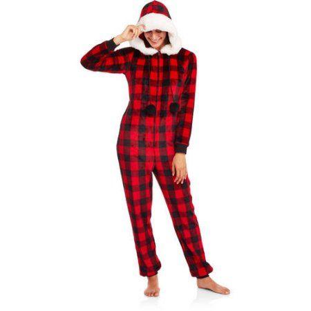 Secret Treasures Women s Assorted Printed Sleepwear Adult Onesie Costume  Union Suit Pajama (Sizes XS-3X) 107011ba9