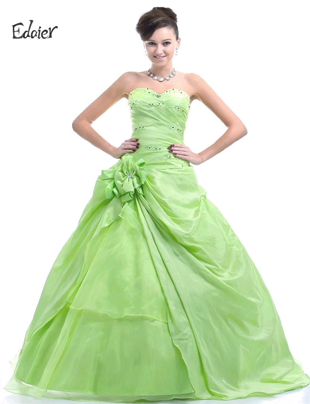 Click to buy edaier 2017 long lemon green prom dresses ball click to buy edaier 2017 long lemon green prom dresses ball gowns ombrellifo Choice Image