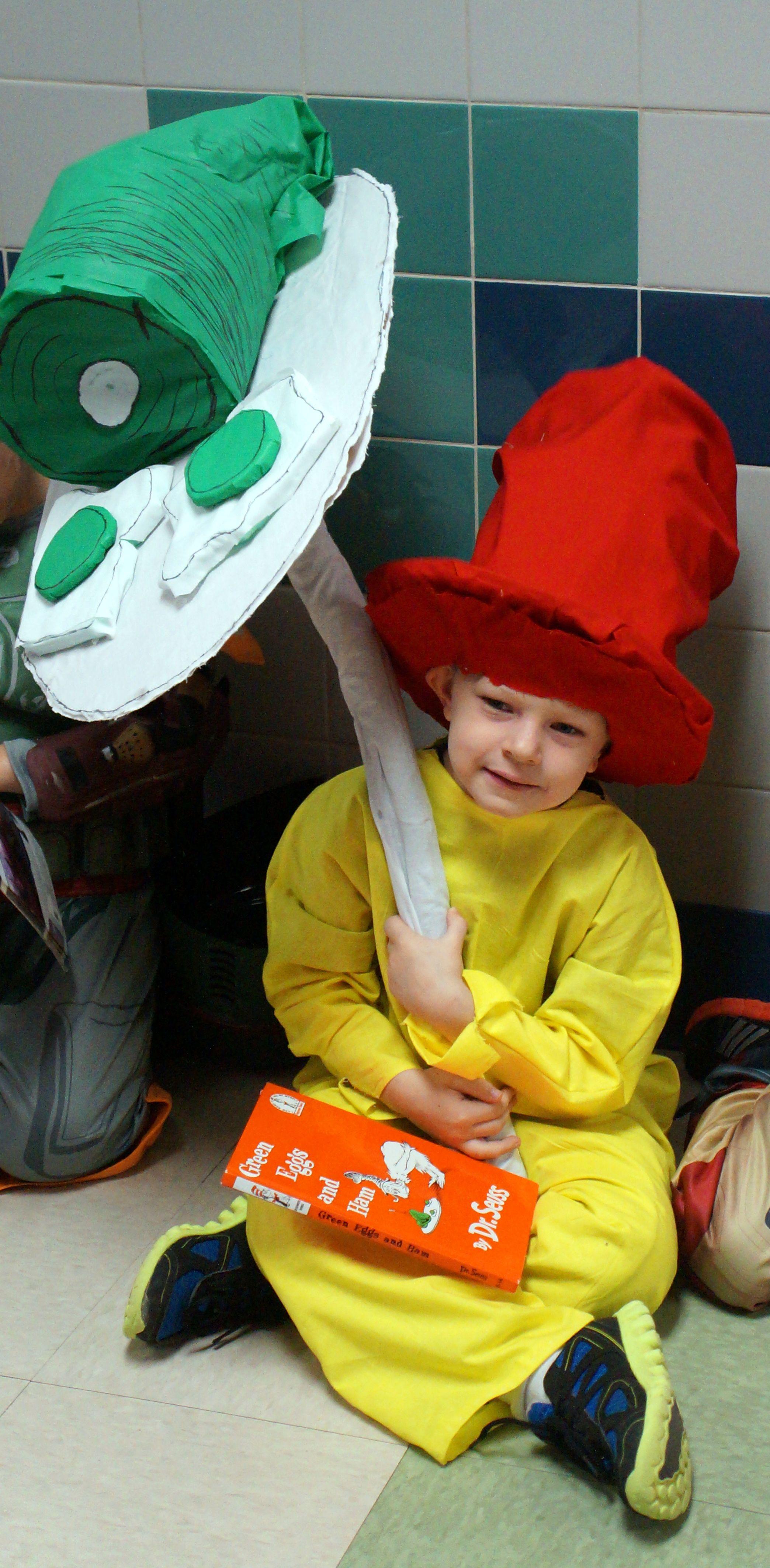 sam i am costume (from green eggs and ham) | kid stuff | pinterest