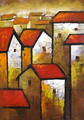 Attractive Privat, Impressionismus Kunst, Haus Der Technik, Stadtlandschaften,  Abstrakte Kunst, Volkskunst, Kunst Ideen, Malerei, Zeichnungen