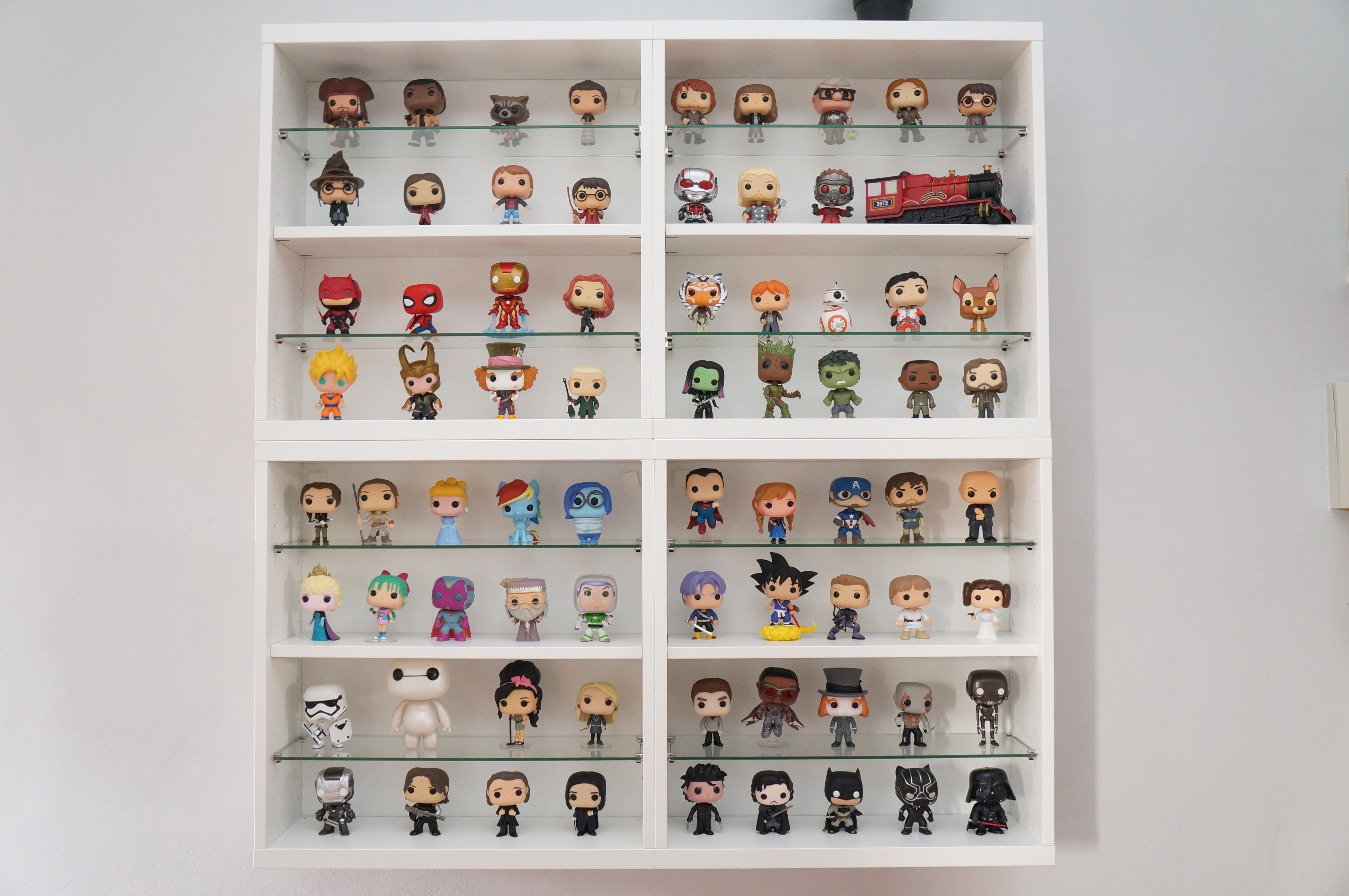 Funko Pop Collection - Besta IKEA Display | funko pop | Pinterest ...
