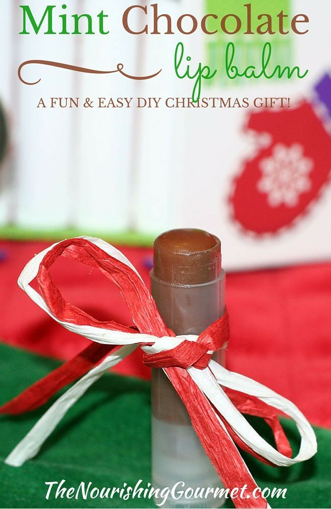 Mint chocolate lip balm a fun and easy diy christmas gift idea mint chocolate lip balm a fun and easy diy christmas gift idea solutioingenieria Image collections