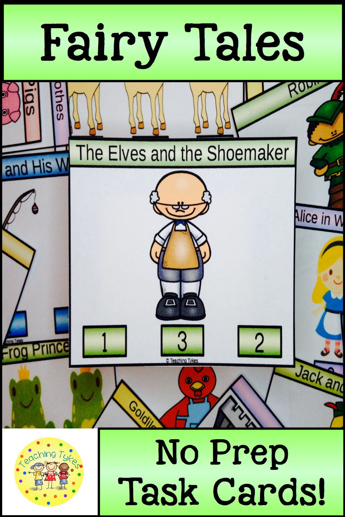 The Elves And The Shoemaker Task Cards