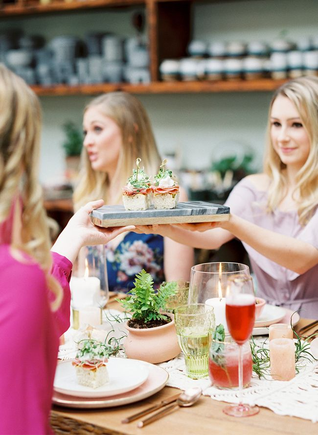 planning a bridal shower is no easy fete so we love it when we can share fresh and new inspiration in the space and this greenhouse bridal shower brunch