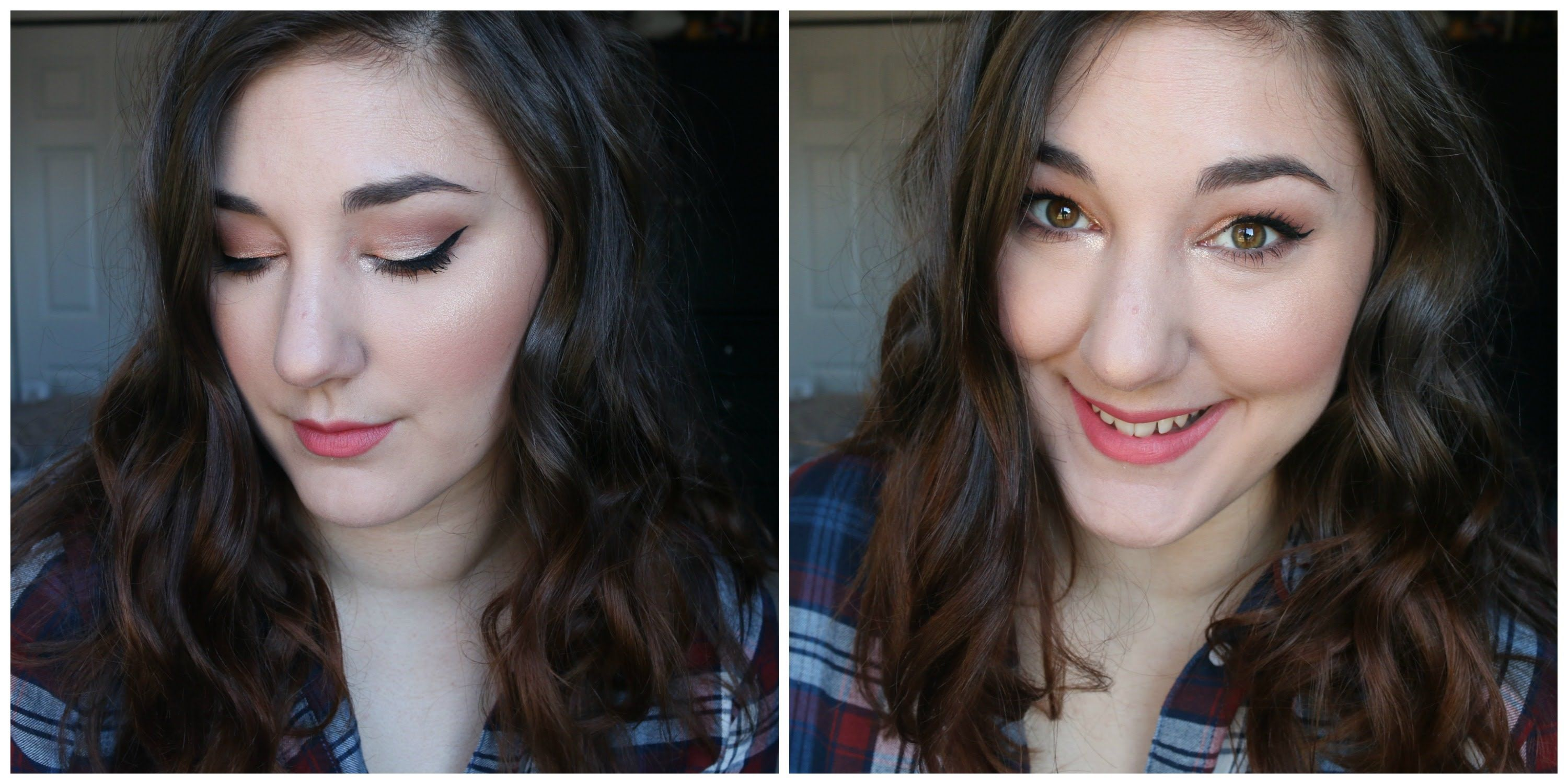 Monochromatic Peachy Pink Spring Makeup Spring makeup
