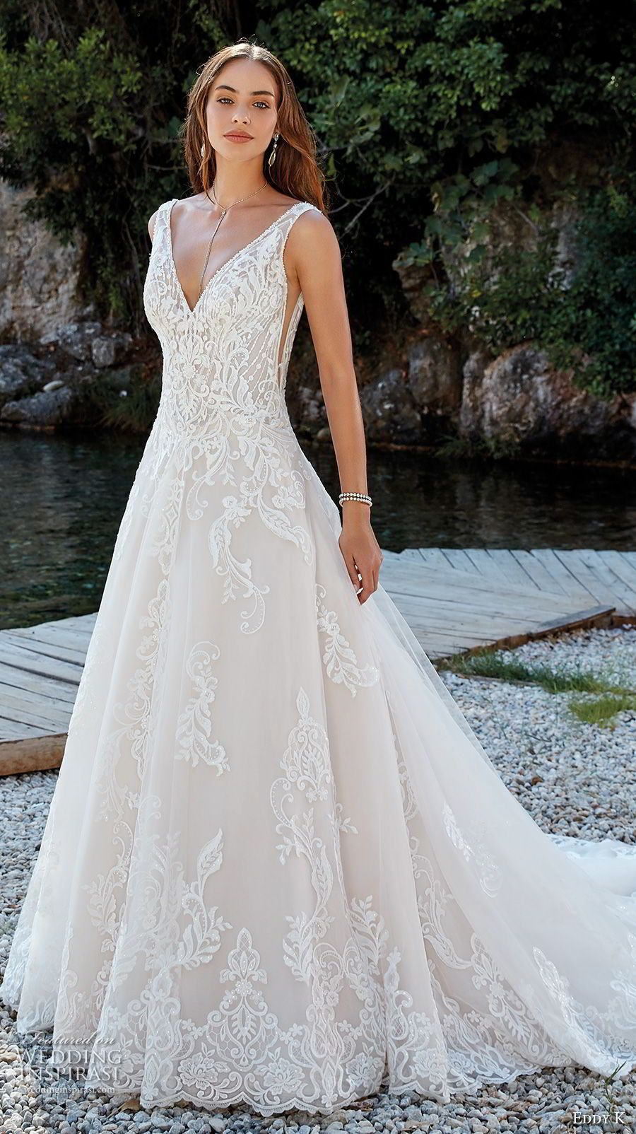 Eddy k dreams 2019 wedding dresses vg pinterest A line wedding dress 2019