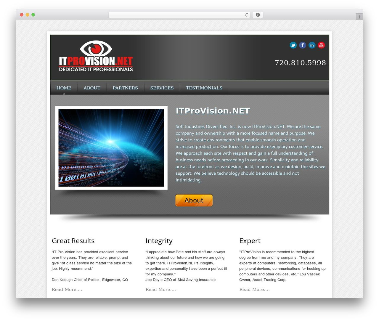 Local Business Pro Responsive Theme Wordpress Template For Business