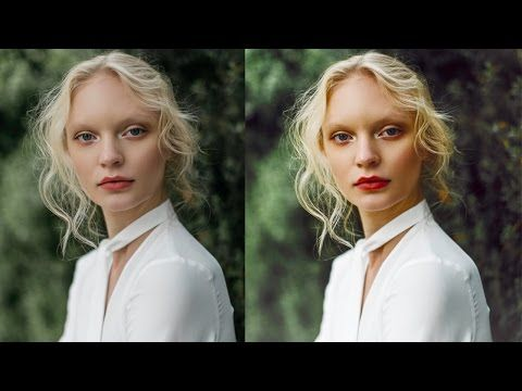 How to edit portraits