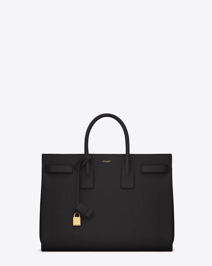 oversized bag - Black Saint Laurent YORQk5T