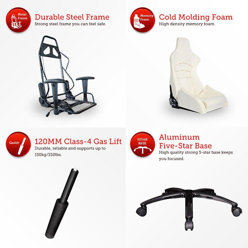 Ewin chair champion series ergonomic gaming chairracing style