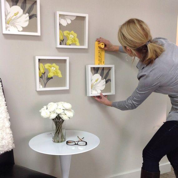 Wallpaper Design Junkies Delight How To Utr Deco Blog Diy Wall Decor Wall Hanging Diy Picture Hanging Tips