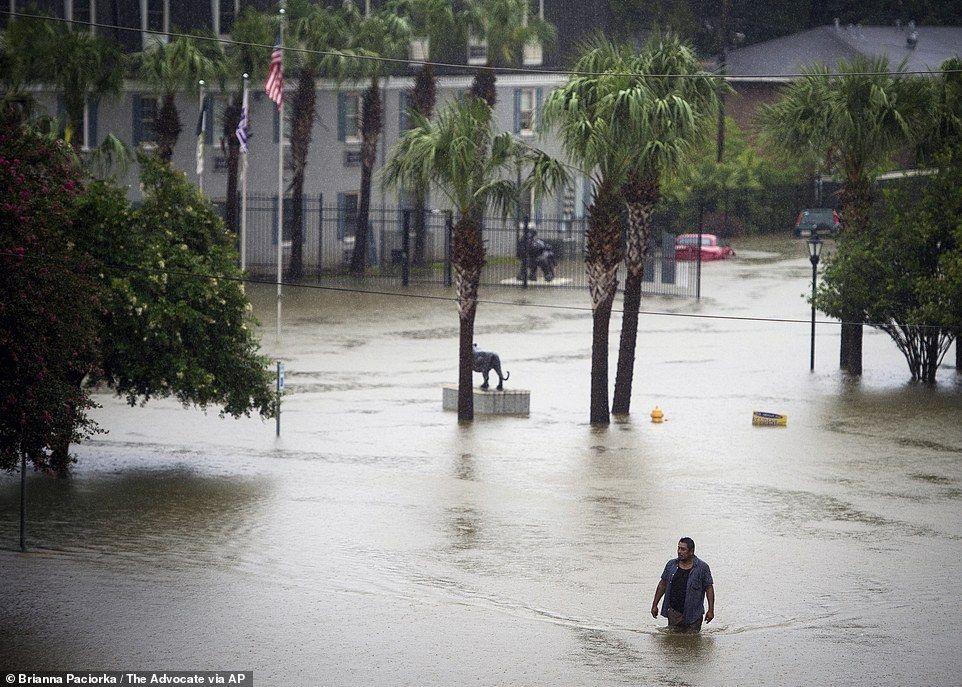 7,000 Rescued As Storms, Flooding Wreak Havoc On Louisiana. Manor ApartmentsBaton  Rouge ...