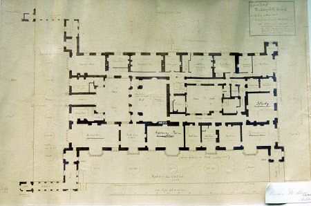 Ground Plan Of Blickling Hall Norfolk As Existing In May 1885 353888 How To Plan Architecture Old Ground Floor Plan