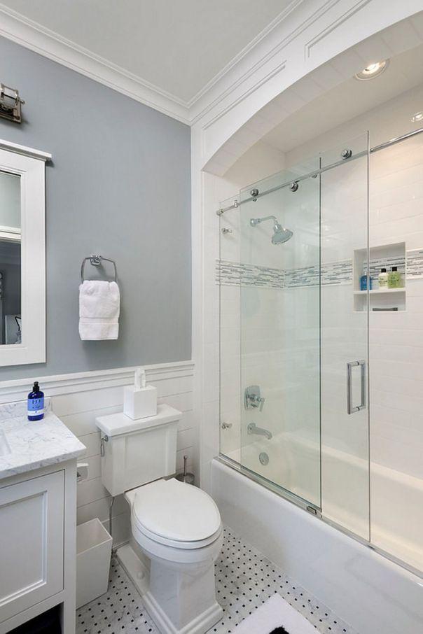 67 Fantastic Minimalist White Bathroom Remodel Ideas Fachadas