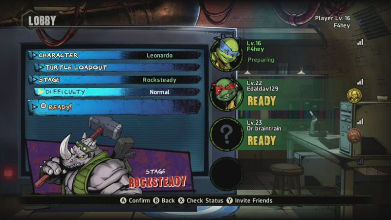 The New Teenage Mutant Ninja Turtles Game Is Best Played With Other People Ninja Turtle Games Ninja Turtles Teenage Mutant Ninja Turtles