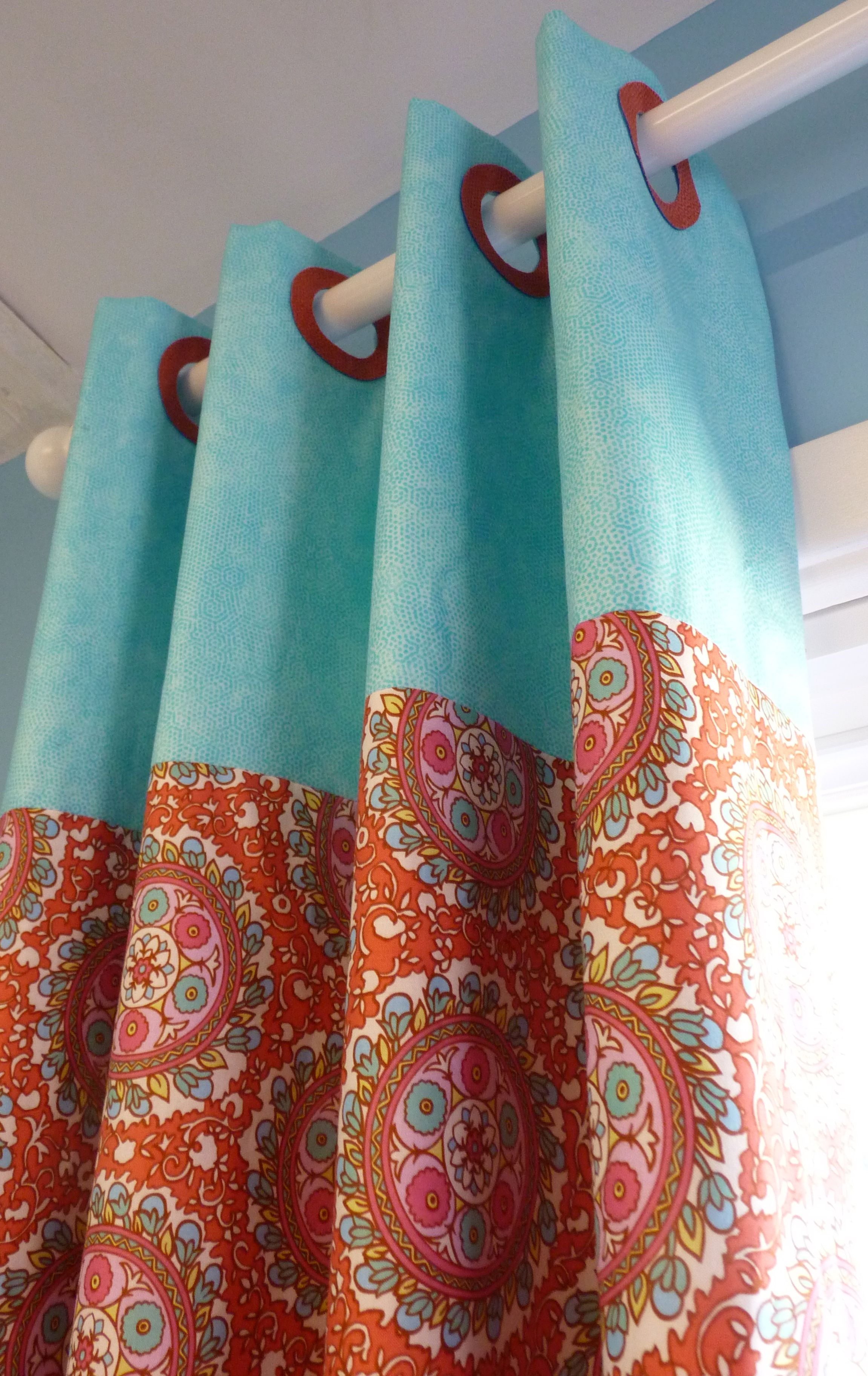 How To Make Lined Curtain Panels P1130049 Interiors Pinterest Curtains Fabric And Sewing