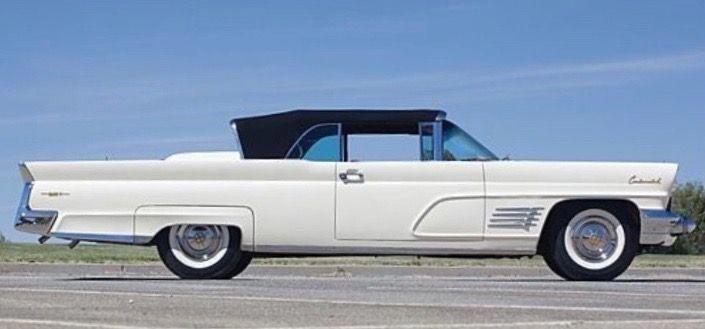 1960 Continental Mark V Convertible #RollsRoyceClassicCars