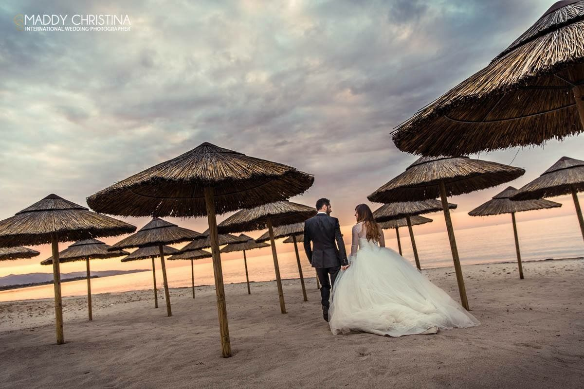 Sardaigne/ Italy mariage wedding marriage trash the dress