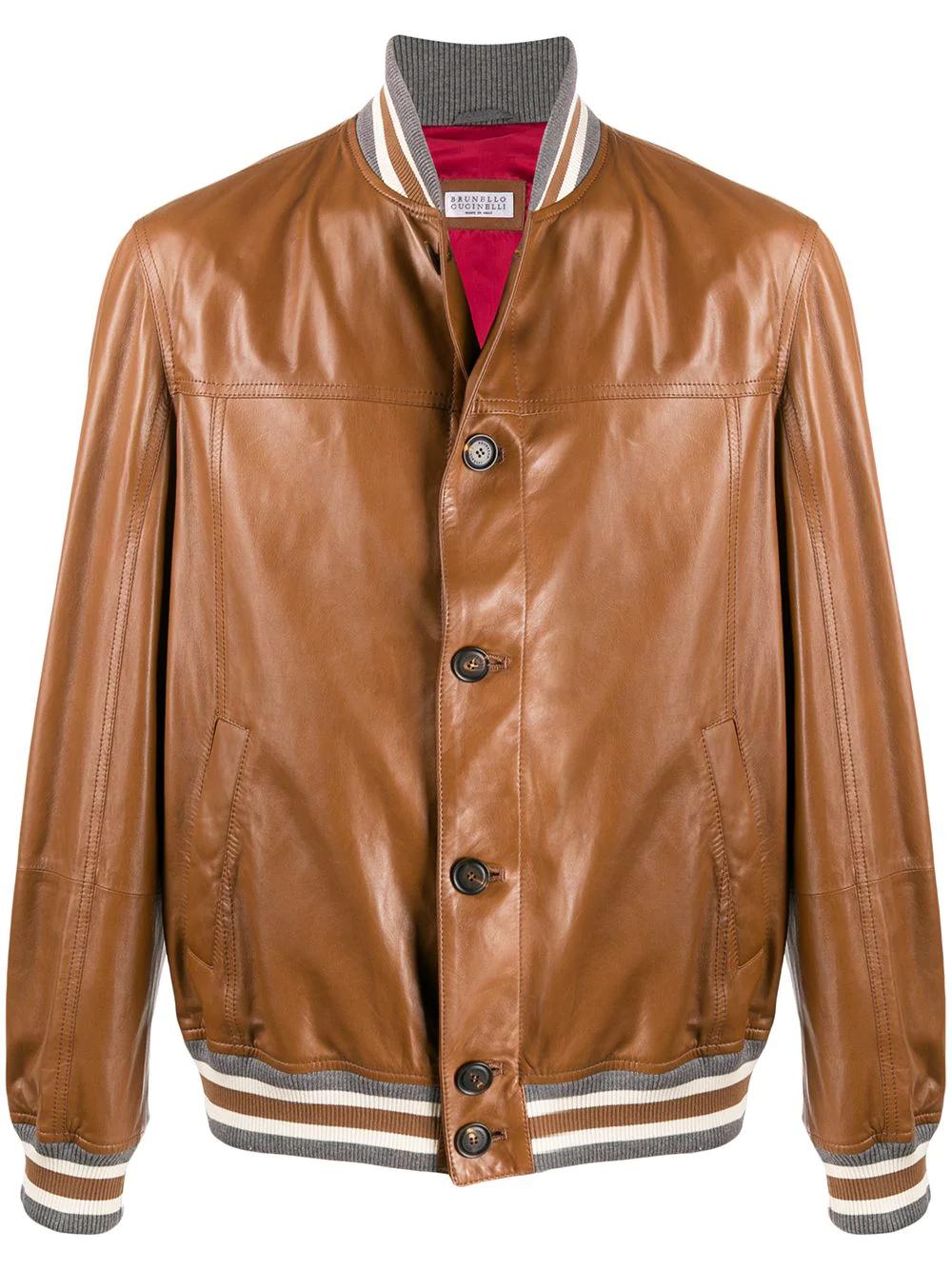 Brunello Cucinelli Short Button Jacket Farfetch Jacket Buttons Jackets Leather Shorts [ 1334 x 1000 Pixel ]