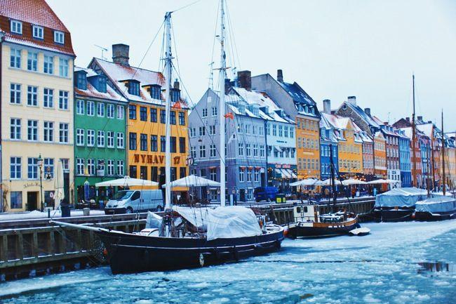 Dock in Copenhagen  #dock #langelinie #pier #nyhavn #copenhagen #denmark #winter #snow #dusk #latergram | alracairam | VSCO Grid®