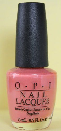 OPI Polish - NL M28 - Los Cabos Coral - Manicure Pedicure