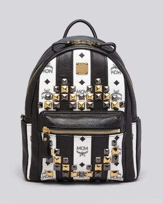 2775a8eda80e MCM Backpack - Road To Paradise Striped Small Bloomingdale's ...
