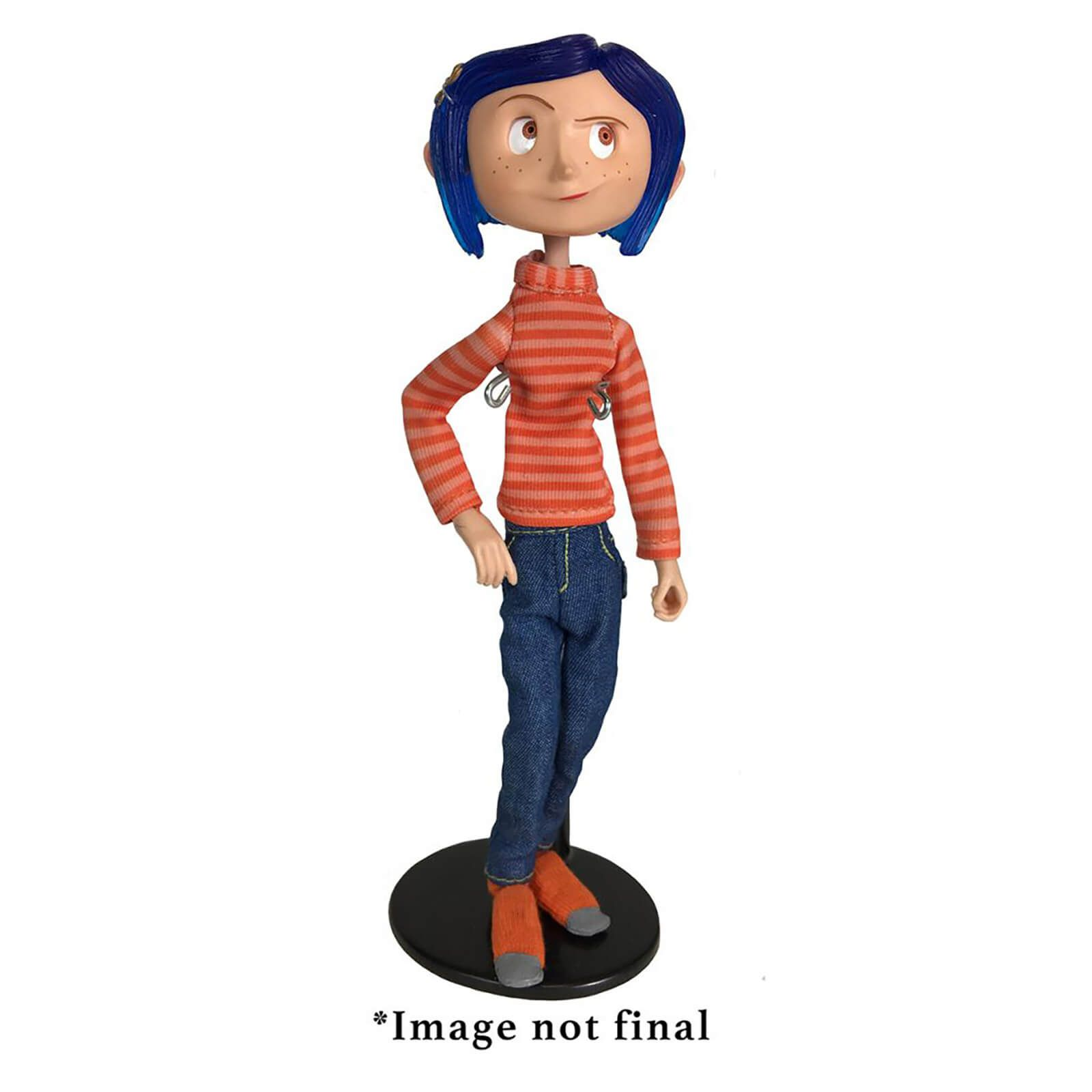 NECA Coraline Articulated Figure Coraline in Striped