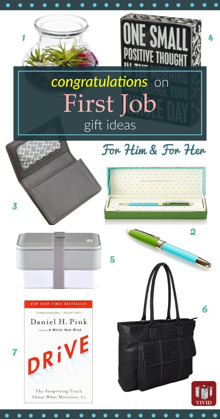 8 New Job Gift Ideas New job gift, College grad gifts