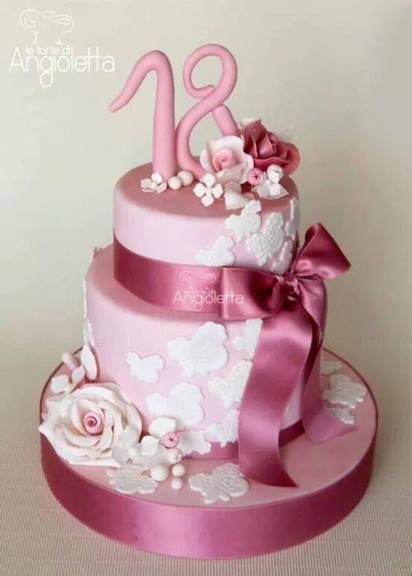 torta 18 anni ragazza