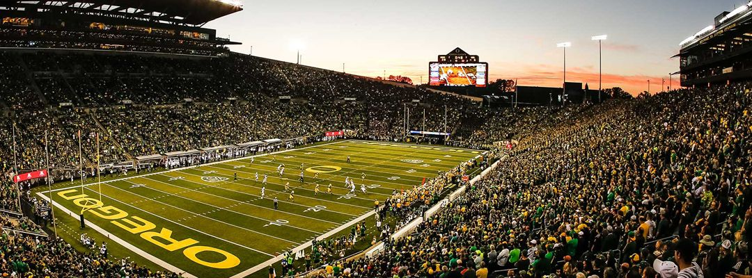 Oregon Ducks Football Camps University Of Oregon Ducks Autzen Stadium Stadium Wallpaper Oregon Ducks