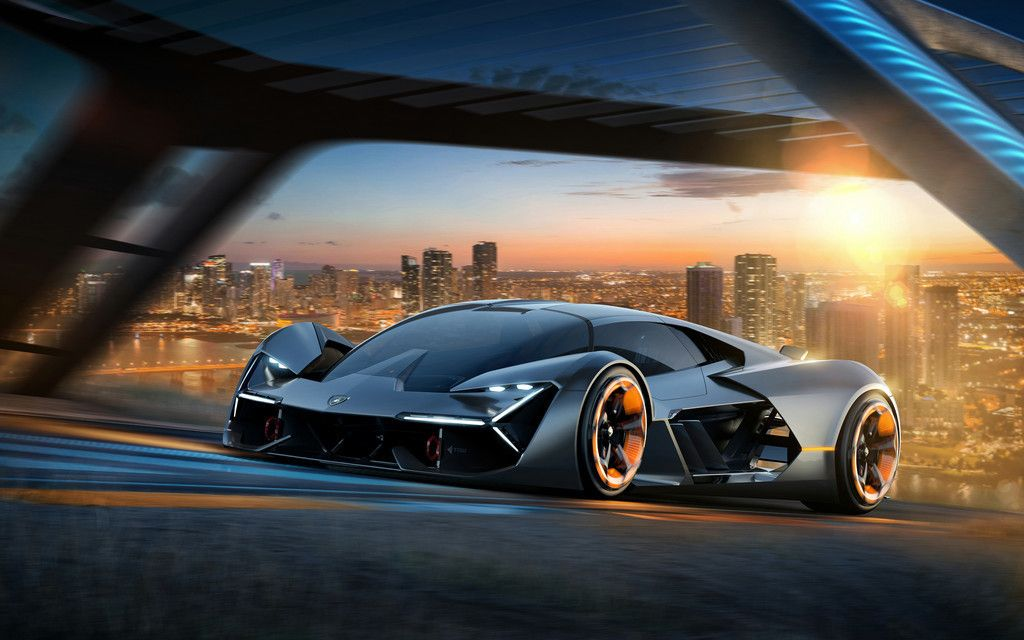 Lamborghini Terzo Millennio, sports car, 2017, 4k wallpaper