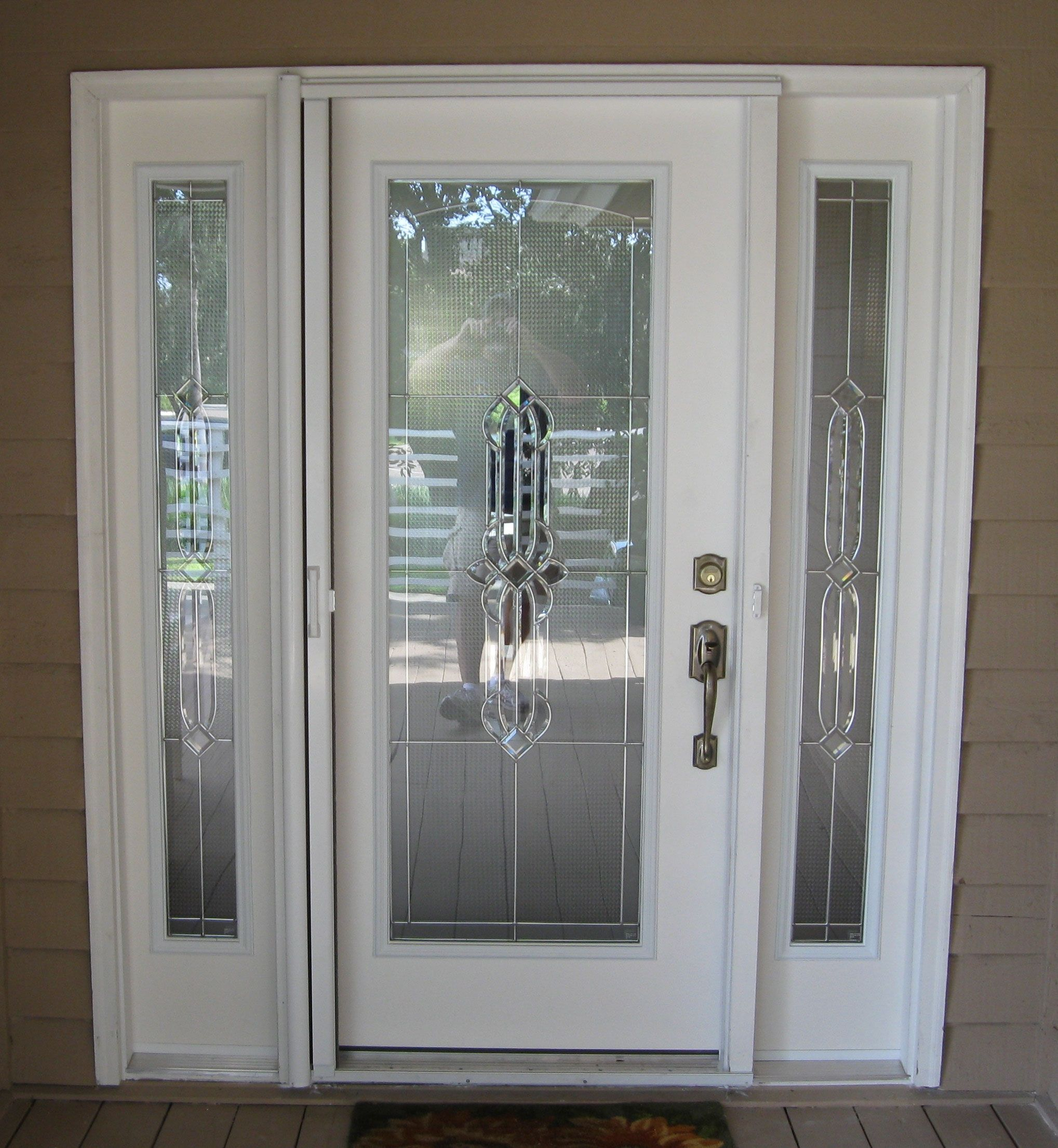 Decorative Glass Inserts For Exterior Doors