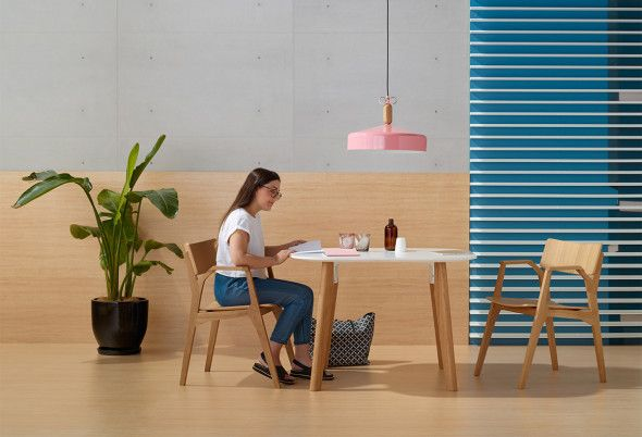 Personable And Inviting The Parley Table Blurs The Lines