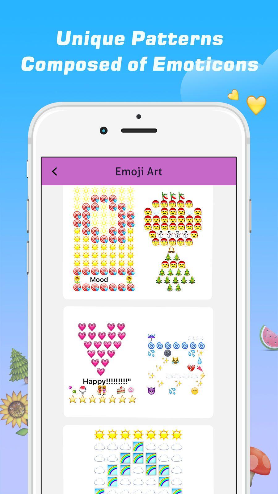 Emoji Free 鈥?20Emoticons Art and Cool Fonts Keyboard