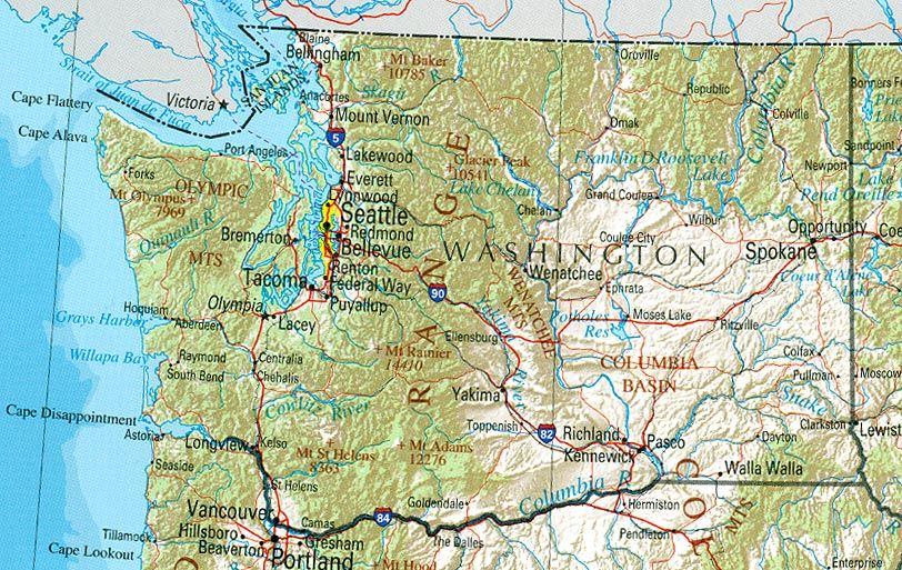 Washington State Attractions Washington State Vacations Tourist