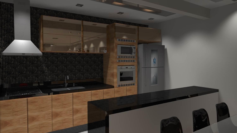 Projetos De Cozinhas Barbara Borges Projetos 3d Arquitetura