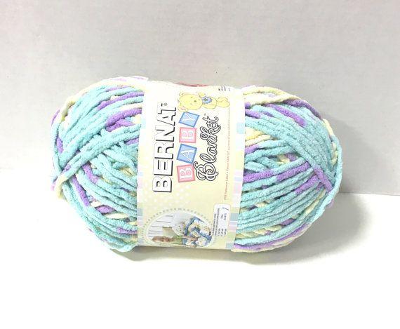 Bernat Baby Blanket Yarn in Easter Egg by