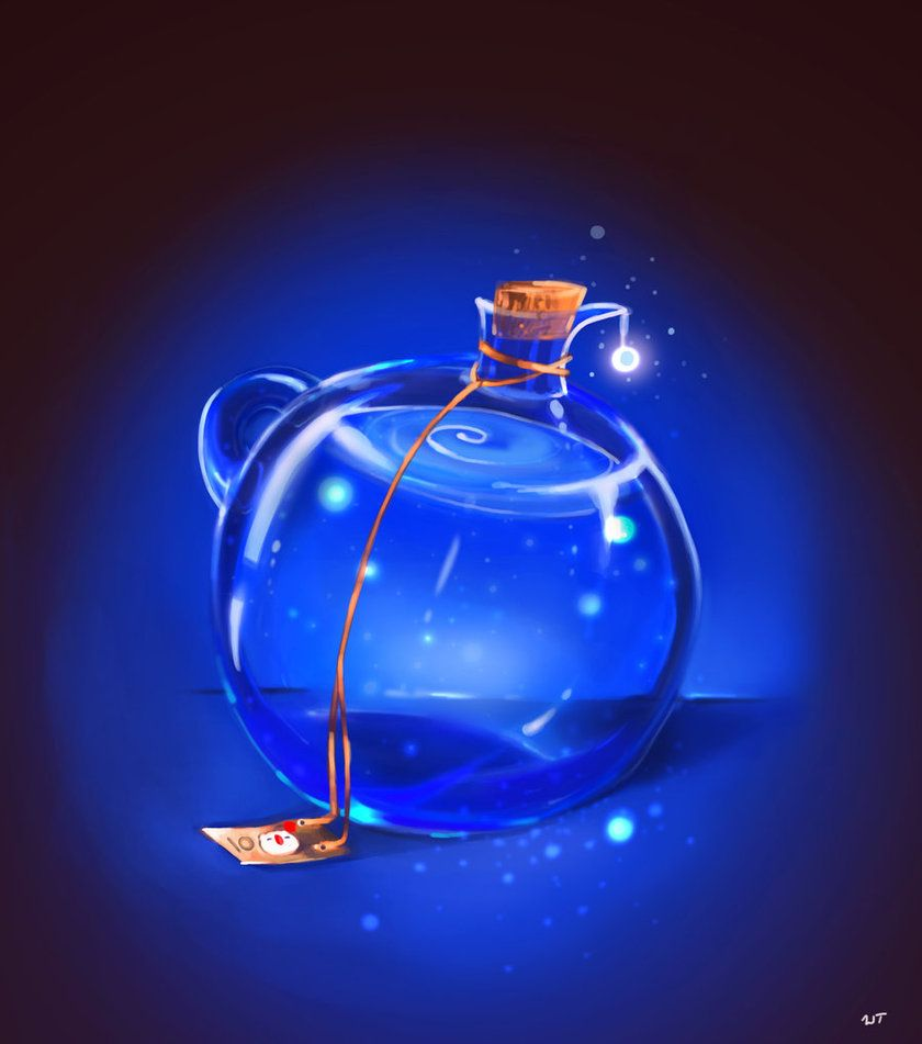 The Magic Potion by ~Crowsrock on deviantART | Tiny Magic ...