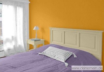Farbgestaltung Schlafzimmer ~ Farbgestaltung für ein schlafzimmer in den wandfarben: honey