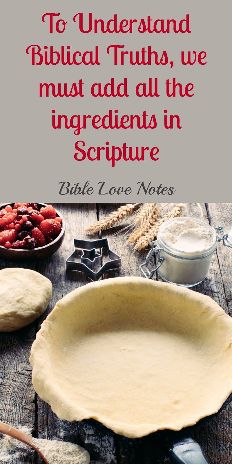 This short bible study offers 3 steps for accurately understanding passages in scripture and combining all passages to understand truth