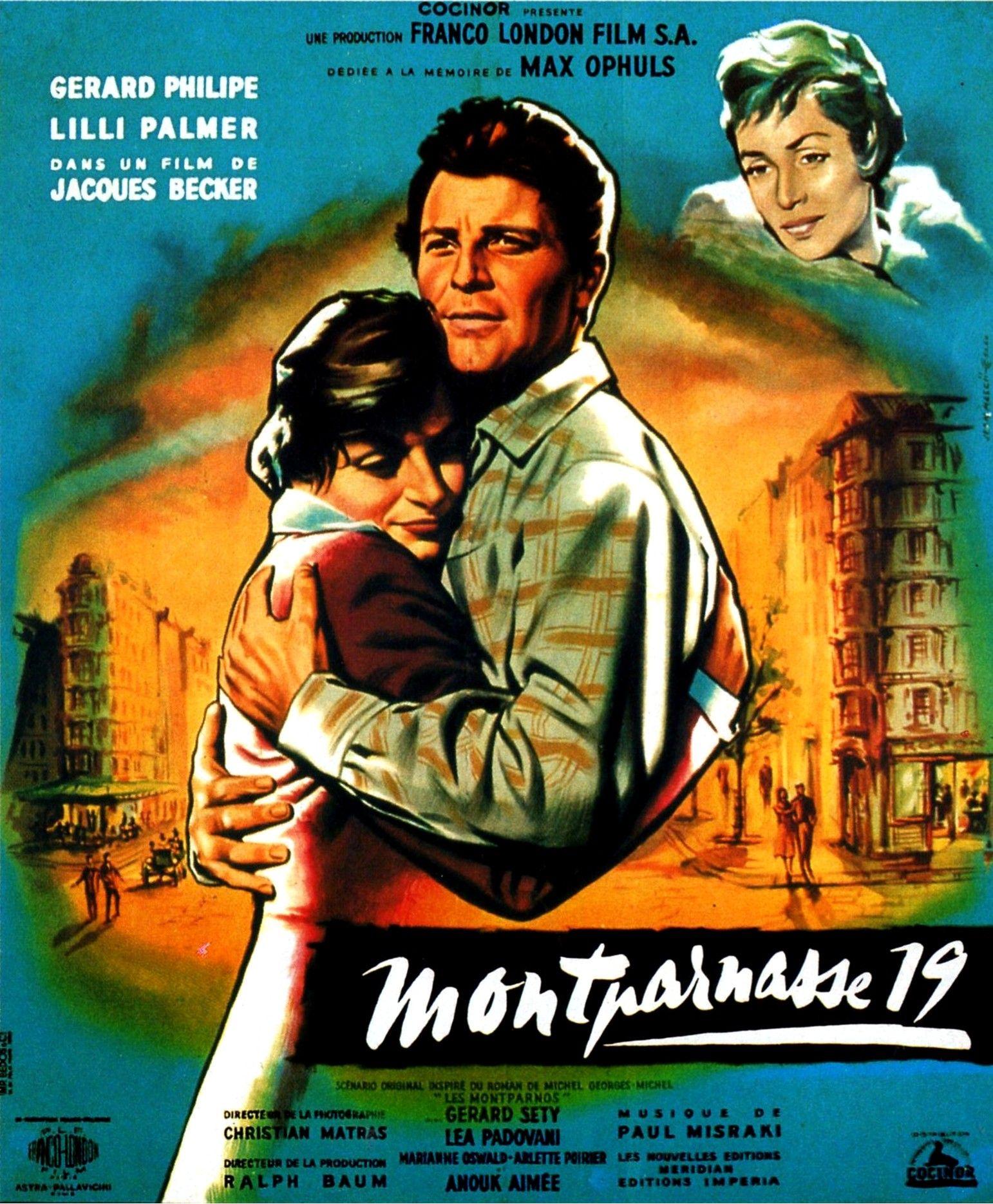 'Montparnasse 19' - Jacques Becker (1957) Jacques Becker, Film Director,