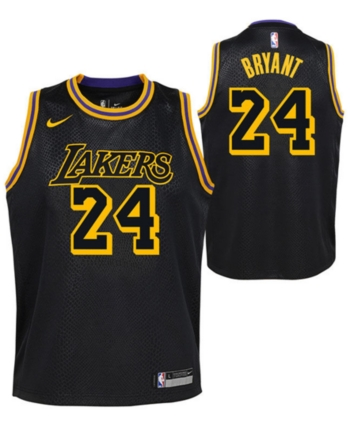 da1df0ce6 Nike Kobe Bryant Los Angeles Lakers City Edition Swingman Jersey