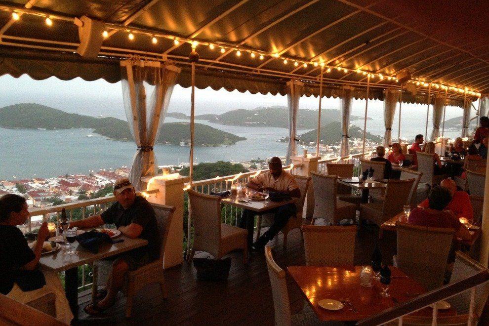St Thomas Best Restaurants In U S Virgin Islands