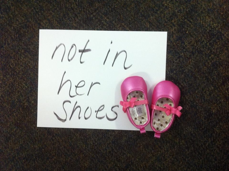 Not In Her Shoes: How you can make Planned Parenthood look stupid in 140 characters or less