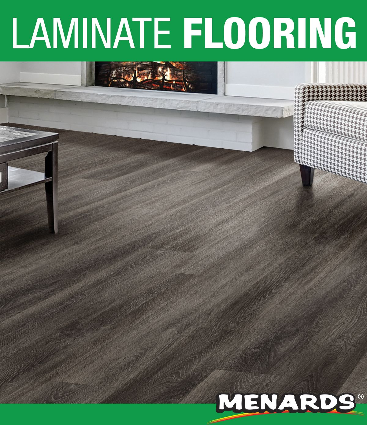 Takett® Grovewood laminate flooring is an easy and