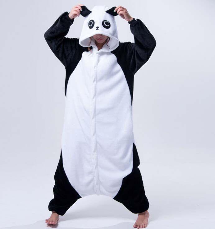 dd352305795c HOT TOP Wholesale Dinosaur Unicorn Cow Unisex Flannel Hoodie Pajamas  Costume Cosplay Animal Onesies Sleepwear For Men Women