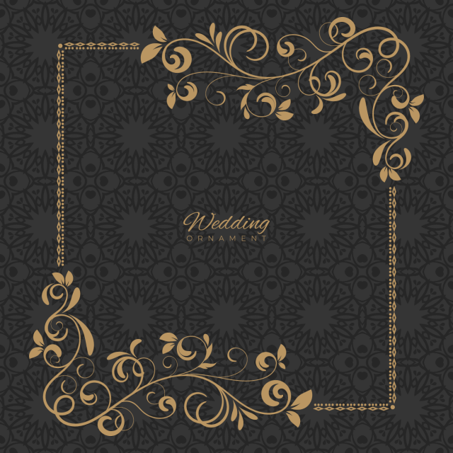 Luxury Ornament Template Ornament Wedding Template Png And Vector With Transparent Background For Free Download Ornament Template Vector Business Card Graphic Design Background Templates