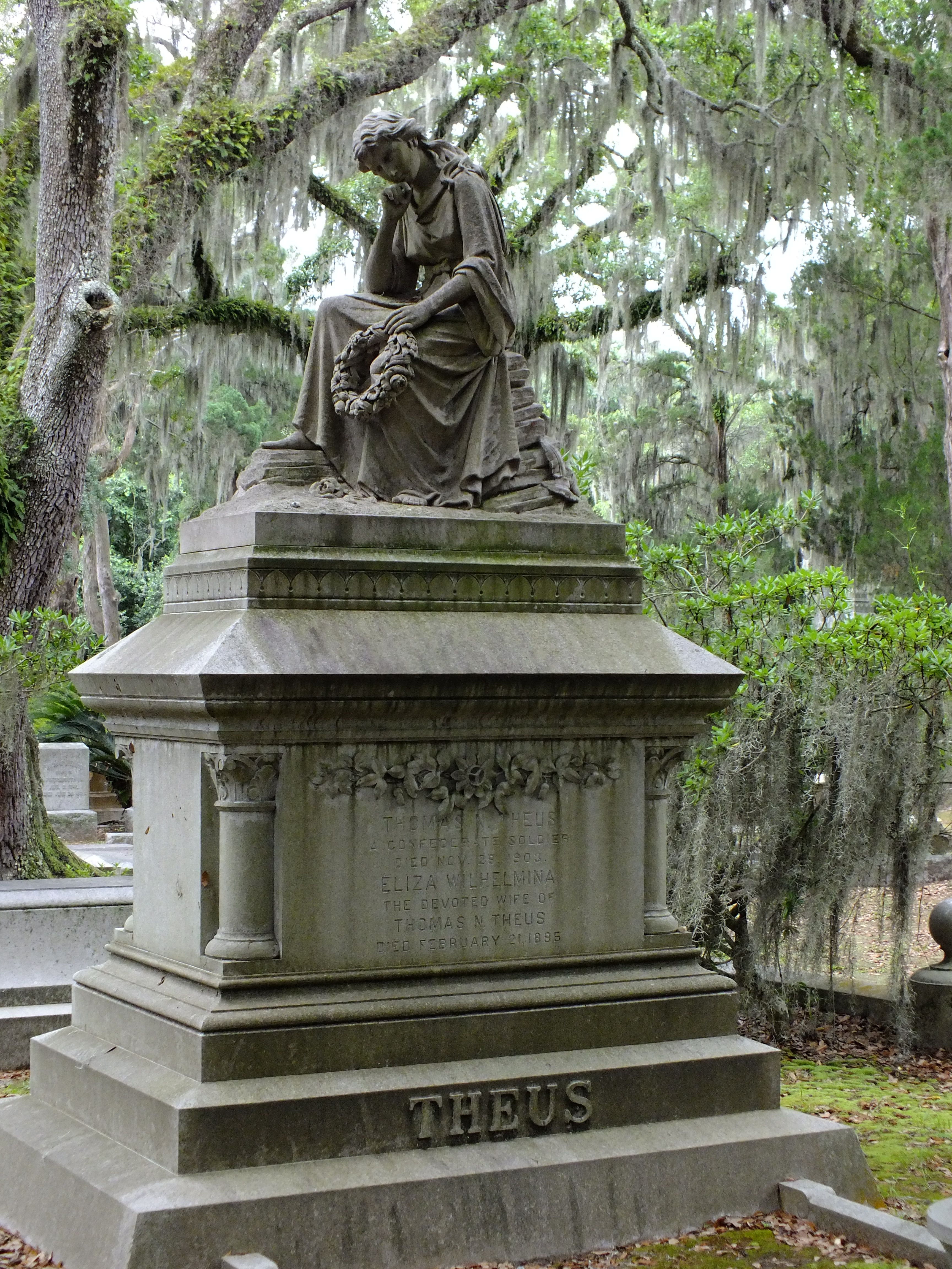 Bonaventure Cemetery in Savannah, Bonaventure