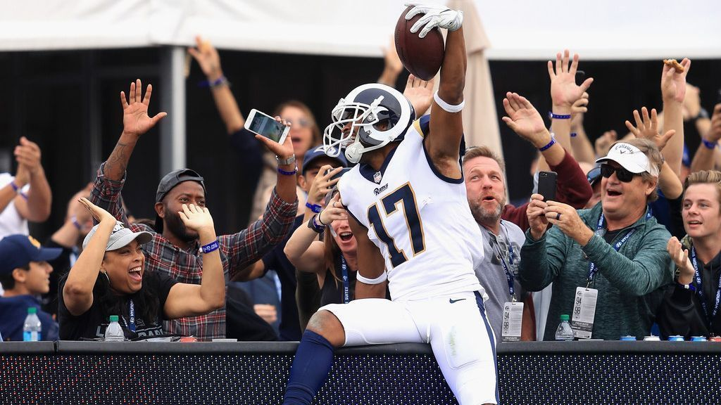 Home of Rams WR Woods burglarized during win Nfl fantasy