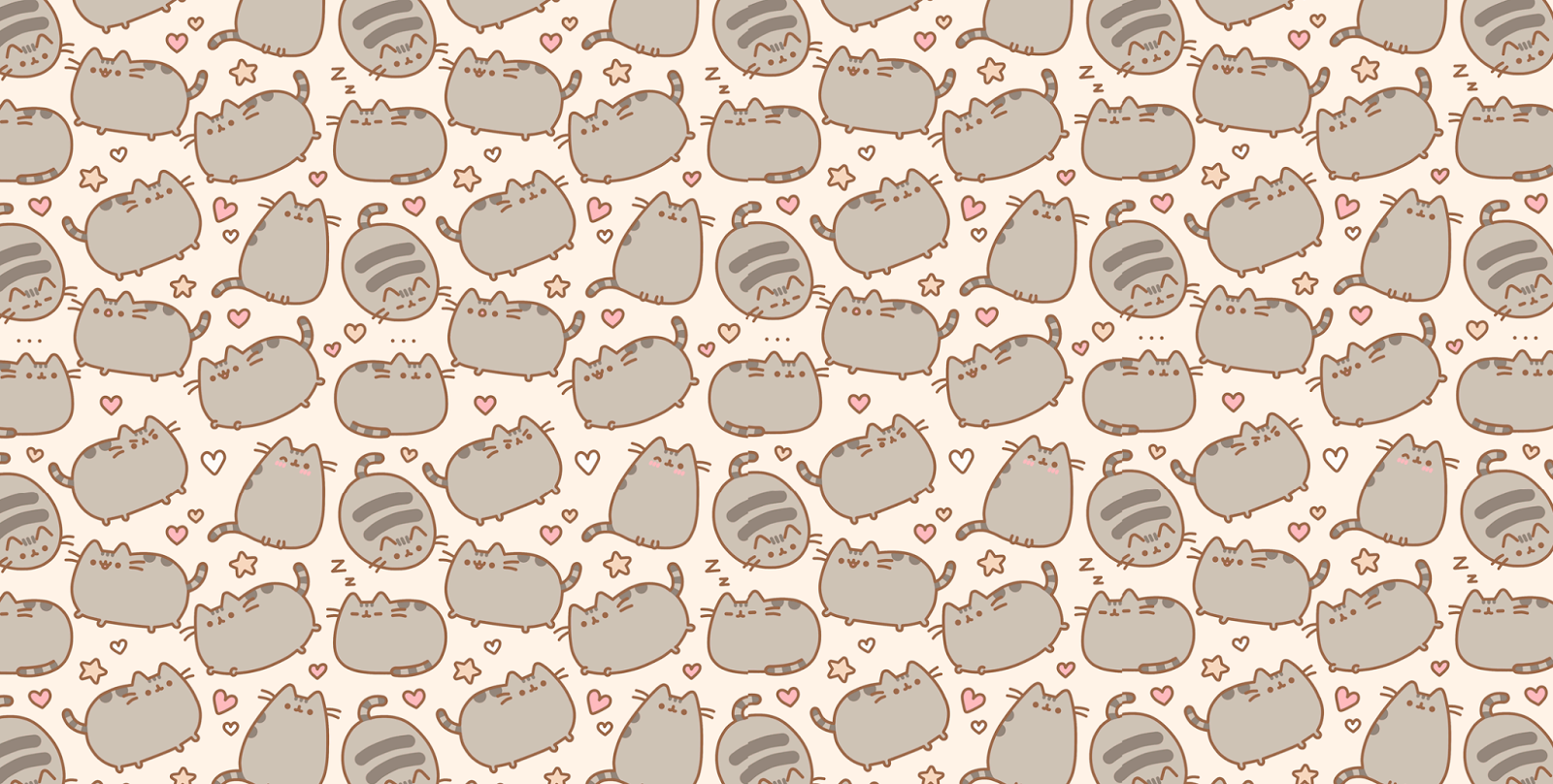 pusheen cat desktop wallpaper wallpapersafari xmas wallpaper